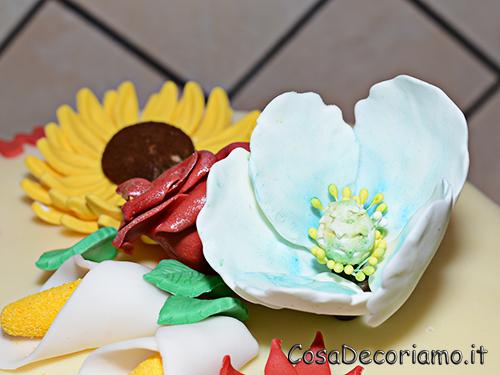 Torte - 68 - Torta Fiori