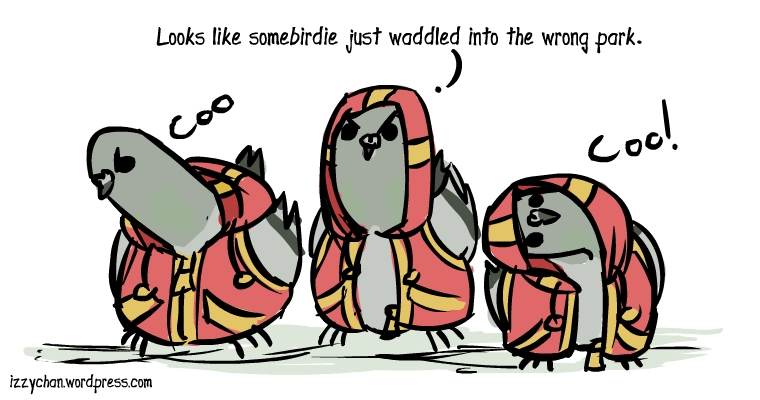 pigeon hoodies thug gangster looks like somebirdie just waddled into the wrong park