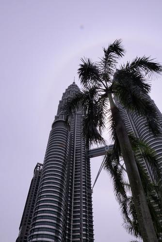 美しい外観ペトロナスタワー