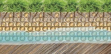海綿城市下雨時水能滲入地下,減少逕流量。圖片由peterman167提供。