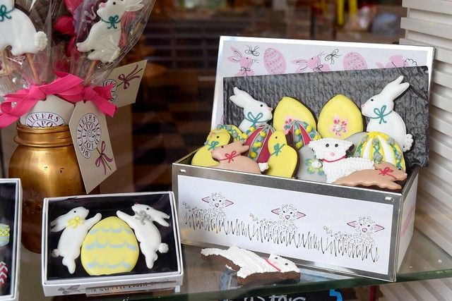 Biscuiteers Easter Window Display