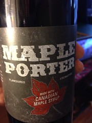 Beersperiment: Maple Porter by Nickel Brook brewing (Burlington, Ontario) @Halyma 3*, me 4*