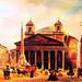Piazza della Rotonda, il Pantheon