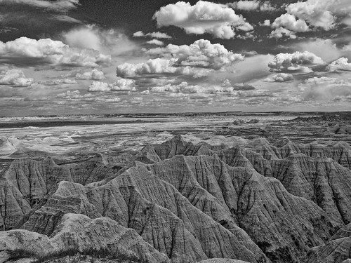 Badlands March of Clouds