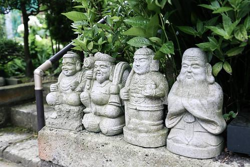 北鎌倉|途中遇到的七福神