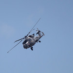 Royal Navy Black Cat Helicopter