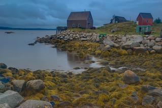Rainy Day, Indian Harbour, Nova Scotia