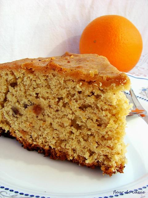 апельсиновый пирог с тхиной 2
