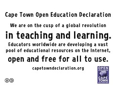 Cape Town Open Education Declaration #oer #openeducation