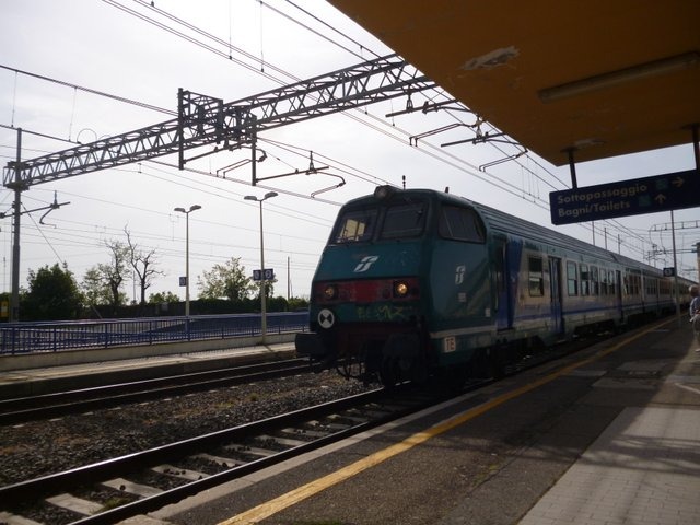 Train to Civitavecchia