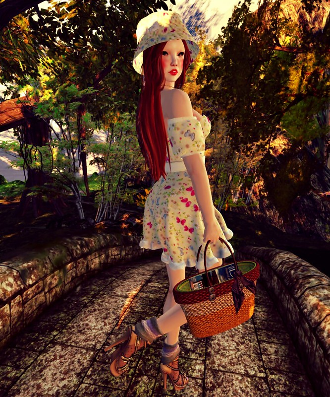 BB - Butterfly Spring Dress (mesh)1