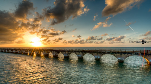 bridge sunset seven keywest mile southflorida