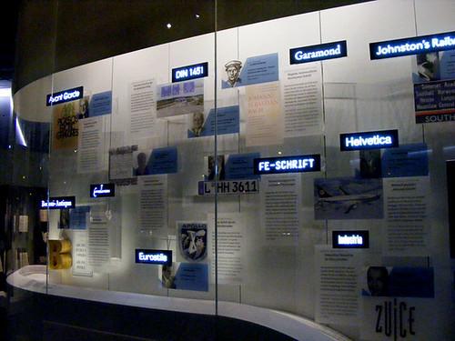 Übersicht über verschiedene Schrifttypen