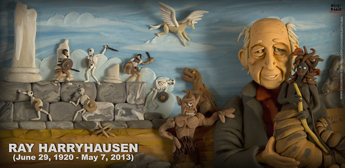 RAY HARRYHAUSEN by alter eddie
