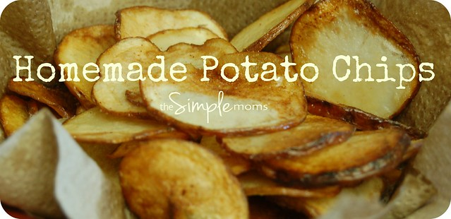 a simple real food recipe :: homemade potato chips