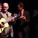 With Marshall Crenshaw, Alejandro Escovedo and Marc Cohn at the Edison Ballroom in New York City, May 9, 2013. Photo by Gus Philippas