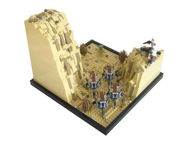 star wars the clone wars 39 ambush 39 lego bei 1000steine. Black Bedroom Furniture Sets. Home Design Ideas