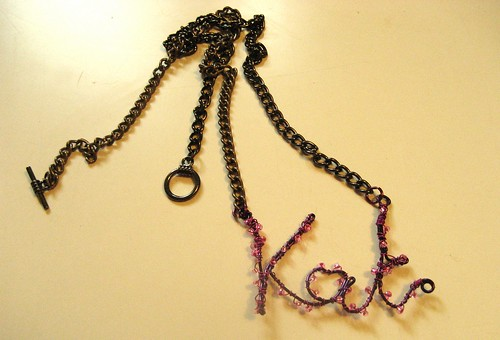 Kat Necklace I made for Myself :)