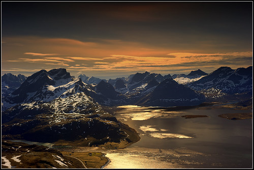 Part of the western Lofoten islands