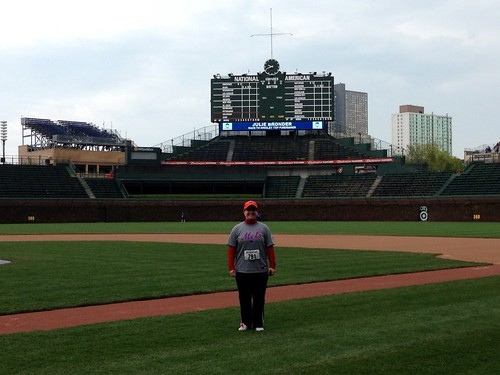 Victory Lap Around Wrigley Field