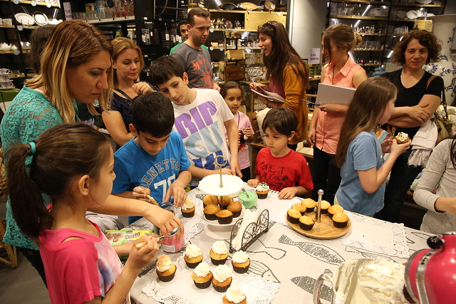 Mudo City Cupcake Çocuk Etkinliği
