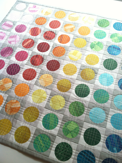 Circular Edges Mini Quilt