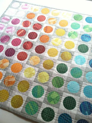 Circular Edges Mini Quilt