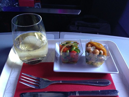 Virgin America Appetizers