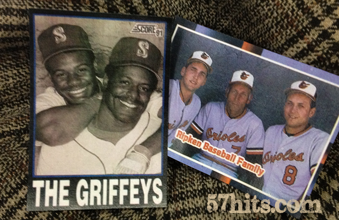 Baseball family: Griffey, Ripken