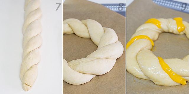 Receta de rosca de yema de A Guarda. Cómo hacer una rosca de yema