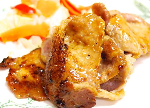 Sauteed pork with marmalade flavor