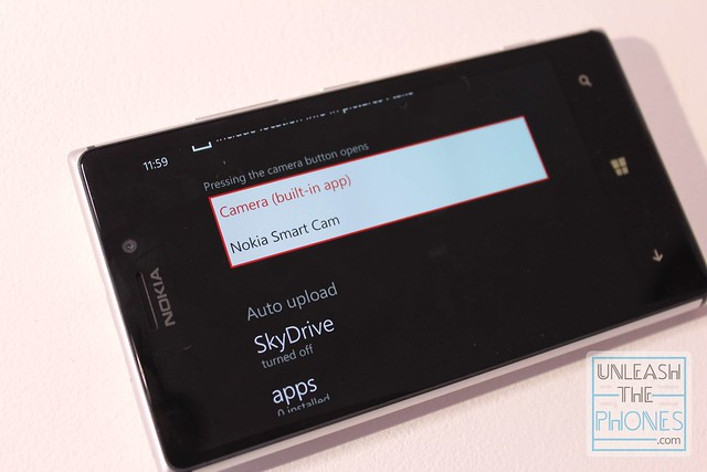Nokia Smart Camera can be launched by camera button as default