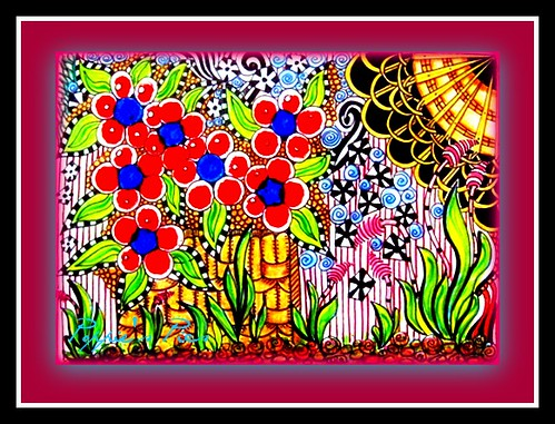 Dotle gardenscene by Poppie_60