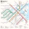 Boston Rapid Transit Map