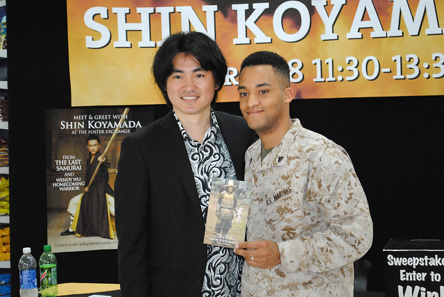 2013/04/18 A Meet and Greet With Shin Koyamada at the US Marine Corps Camp Foster