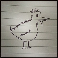 Beware the vampire chicken. Cc @lindaduffin