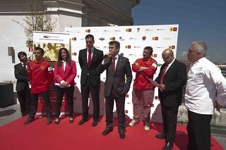 Presentación de los nuevos fichajes. Foto: Miguel A. Muñoz Romero.