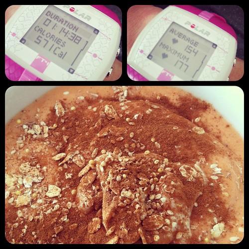 Carrot Cake Protein Shake