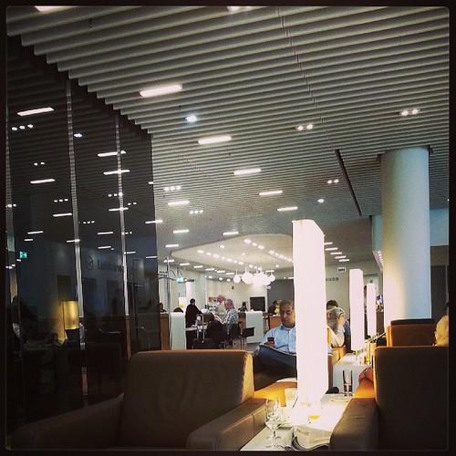Senator Lounge of Lufthansa st Frankfurt