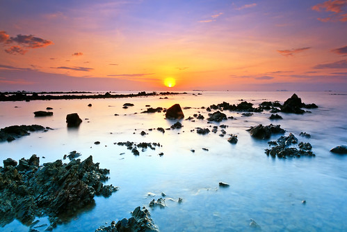 travel sea sky seascape beach nature rock sunrise thailand thai chumphon ชุมพร หาดทุ่งวัวแล่น thungwualaen