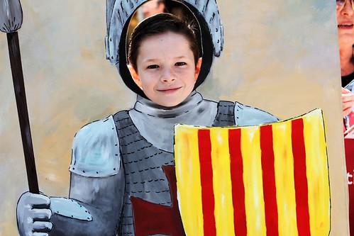 Silas as San Jordi_4361