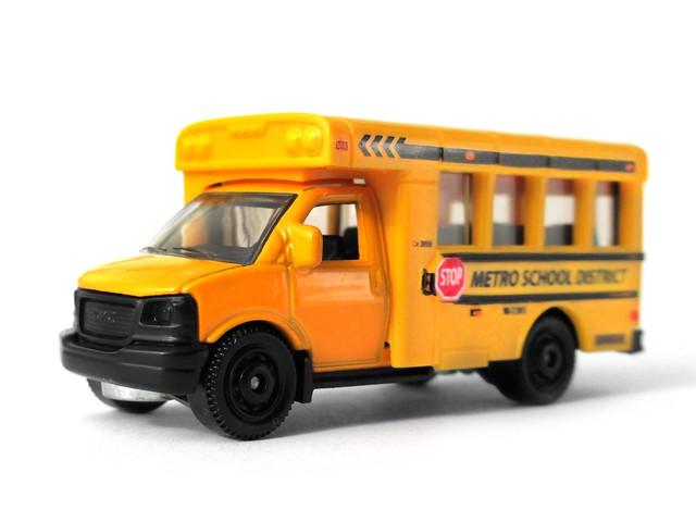 Matchbox gmc school bus