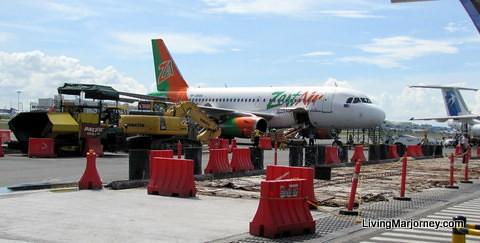Air Asia in Kota Kinabalu