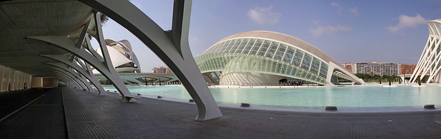 Valencia - City of Arts and Sciences 65 panorama