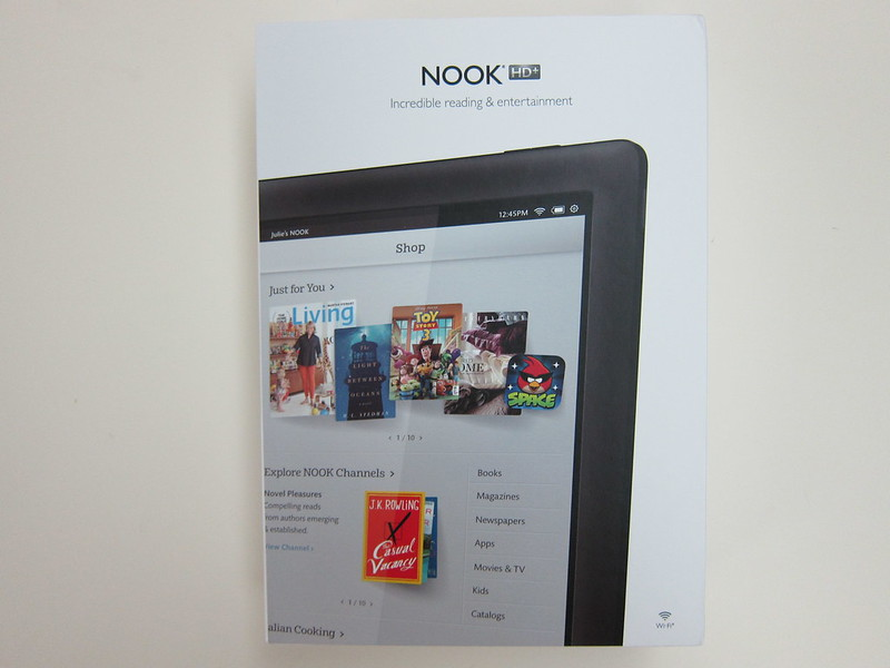Nook HD+ - Box Front