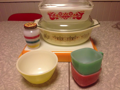 Recent Pyrex and Fireking Additions