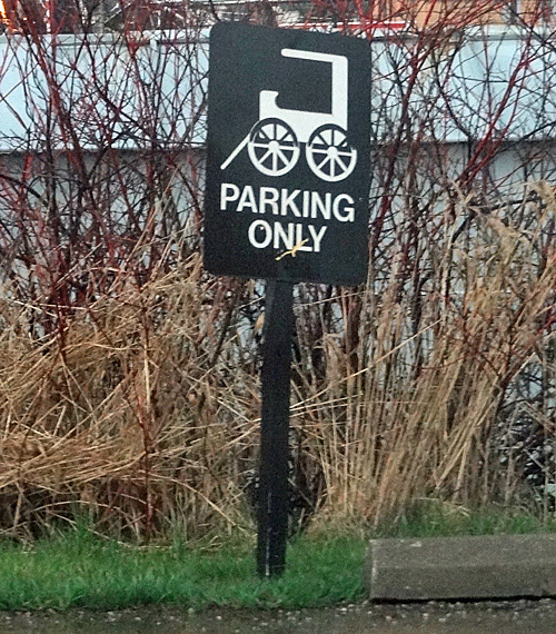 amish-parking-sign