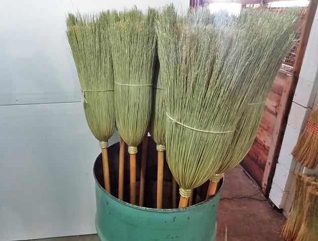 amish-brooms