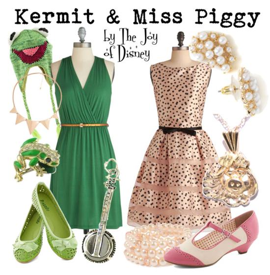 Kermit & Miss Piggy (Muppets)