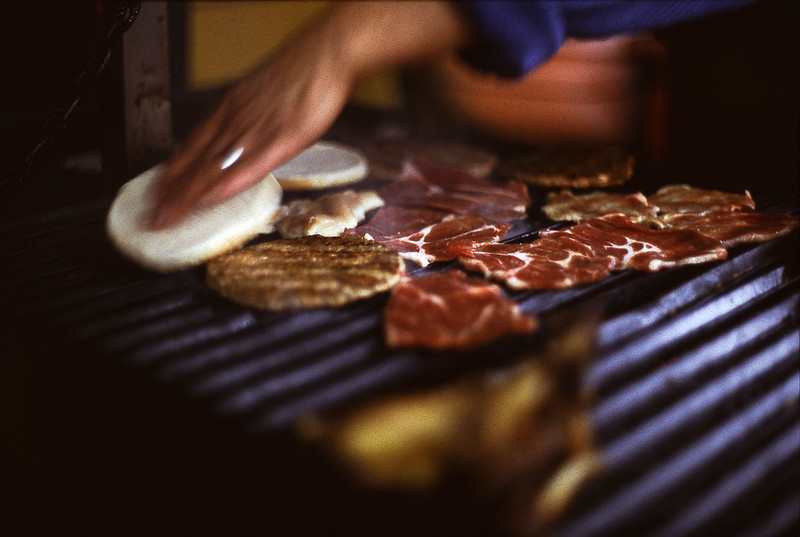 Real Street Meat Can't Be Beat (in Ektachrome E200)